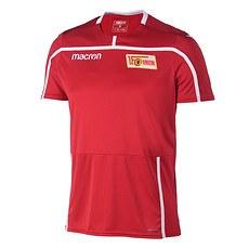 Macron 1. FC Union Berlin Trainingsshirt Team rot/weiß