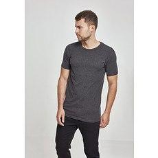 URBAN CLASSICS T-Shirt Fitted Stretch Dunkelgrau