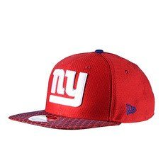New Era New York Giants Cap Sideline 9FIFTYOF Dots rot