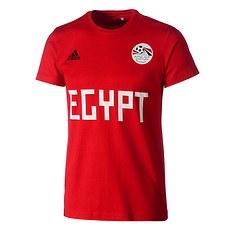 Adidas Ägypten T-Shirt Fan rot