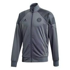 Adidas FC Bayern München Freizeit-Jacke grau