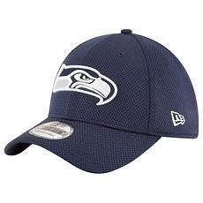 New Era Seattle Seahawks Cap 39THIRTY Sideline Tech blau
