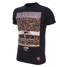 Copa AS Rom T-Shirt Tifosi schwarz