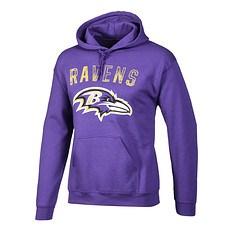 Majestic Athletic Baltimore Ravens Hoodie Bradler lila
