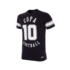 Copa T-Shirt Number 10 Kinder schwarz