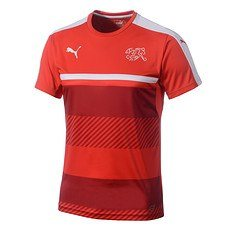 Puma Schweiz Trainingsshirt rot