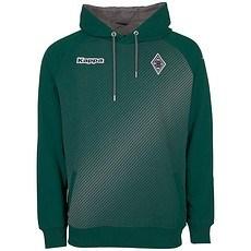 Kappa Borussia Mönchengladbach Hoodie Sparetime grün