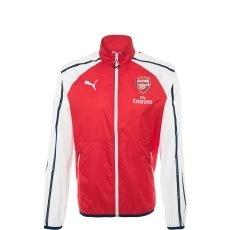 Puma Arsenal London Jacke Anthem Kinder rot/weiß/blau