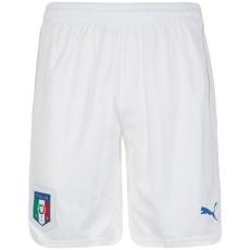 Puma Italien Heim Shorts EM 2016 weiß/blau