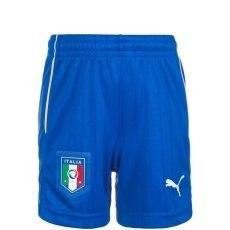 Puma Italien Auswärts Shorts EM 2016 Kinder blau