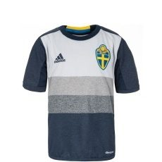 Adidas Schweden Auswärts Trikot EM 2016 Kinder dunkelblau/grau