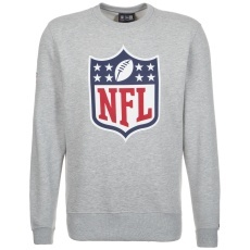New Era Sweatshirt NFL Team Logo grau