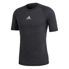 Adidas T-Shirt Alphaskin CLIMALITE Schwarz
