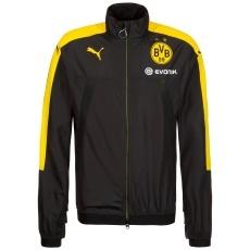 Puma Borussia Dortmund Stadium Jacket Schwarz