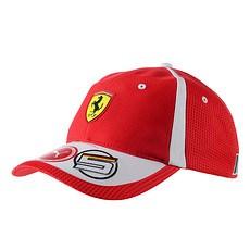 Ferrari Cap Vettel rot
