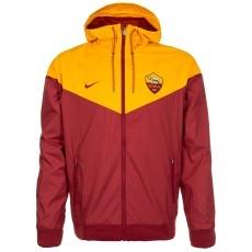 Nike AS Rom Kapuzenjacke Windrunner rot/gelb