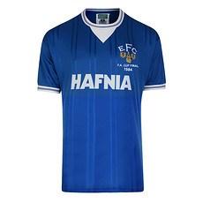 Scoredraw FC Everton Retro Trikot 1984 FA Cup Finale