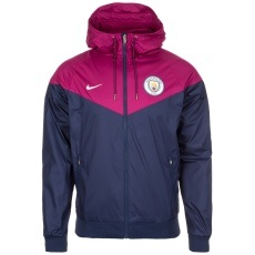 Nike Manchester City Jacke Windrunner Team Blau