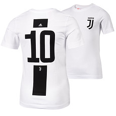 Adidas Juventus Turin T-Shirt 10 (Dybala) Logo Kinder