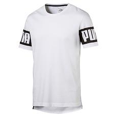 Puma T-Shirt Rebel Weiß