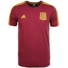 Adidas Spanien T-Shirt 3S WM 2018 weinrot/gelb
