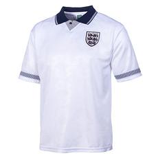England Retro Trikot WM 1990