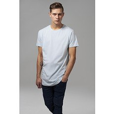 URBAN CLASSICS T-Shirt Shaped Long babyblau