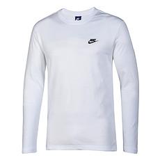 Nike Longsleeve Sportswear Top Weiß/Schwarz