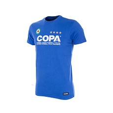 Copa T-Shirt Copa Basic Kinder blau