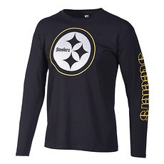 Majestic Athletic Pittsburgh Steelers Langarmshirt Joel schwarz