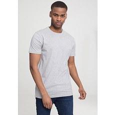 URBAN CLASSICS T-Shirt Basic Hellgrau