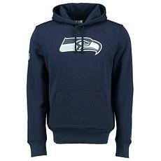 New Era Seattle Seahawks Hoodie Team Logo oceansideblue