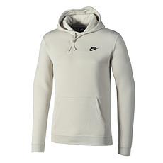 Nike Hoodie Sportswear Swoosh aschgrau/schwarz