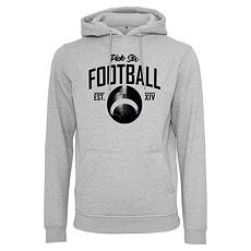 PICK SIX Hoodie FOOTBALL CLASSIC Grau