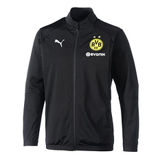 Puma Borussia Dortmund Freizeitjacke schwarz