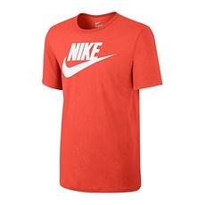 Nike T-Shirt Futura Icon Orange/Weiß