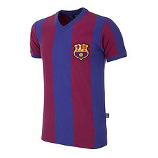 Copa FC Barcelona 1955/56 Short Sleeve Retro Shirt