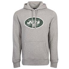 New Era New York Jets Hoodie Team Logo grau