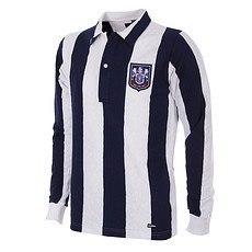 Copa West Bromwich Albion 1953/54 Long Sleeve Retro Shirt