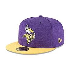 New Era Minnesota Vikings Cap 59FIFTY Sideline Home lila/gelb
