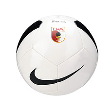 Nike FC Augsburg Trainingsball Logo weiß