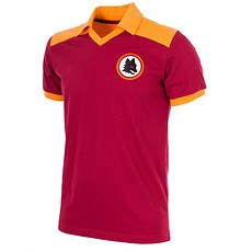 Copa AS Rom 1980 Short Sleeve Retro Shirt