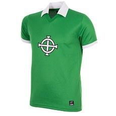 Copa Nordirland George Best 1977 Short Sleeve Retro Shirt