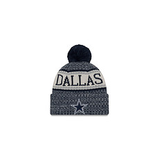 New Era Dallas Cowboys Bommelmütze Sport blau