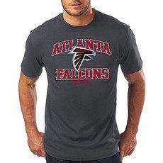 Majestic Athletic Atlanta Falcons T-Shirt Treser dunkelgrau