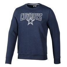 New Era Dallas Cowboys Sweatshirt Script blau