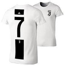 Adidas Juventus Turin T-Shirt 7 (Ronaldo) Logo Kinder