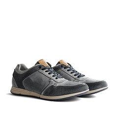 TRAVELIN OUTDOOR Sneaker Corton Leather hellgrau