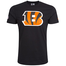 New Era Cincinnati Bengals T-Shirt Team Logo schwarz