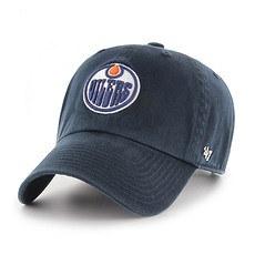 47 Brand Edmonton Oilers Cap Clean Up navy